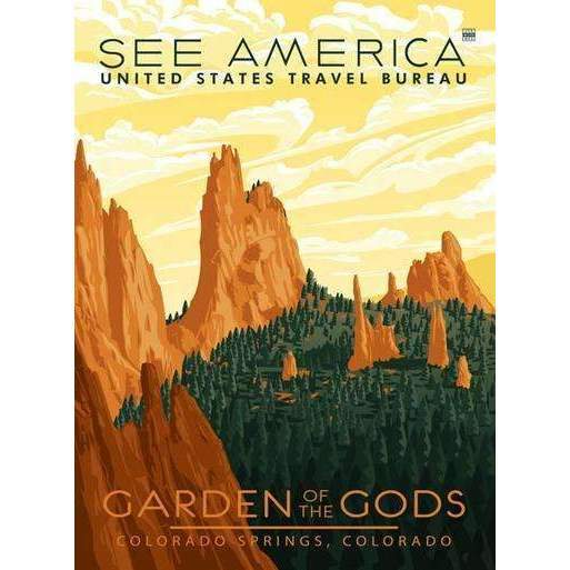 Ford Craftsman Decor Garden of the Gods Poster