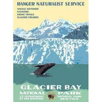 Ford Craftsman Decor Glacier Bay Poster