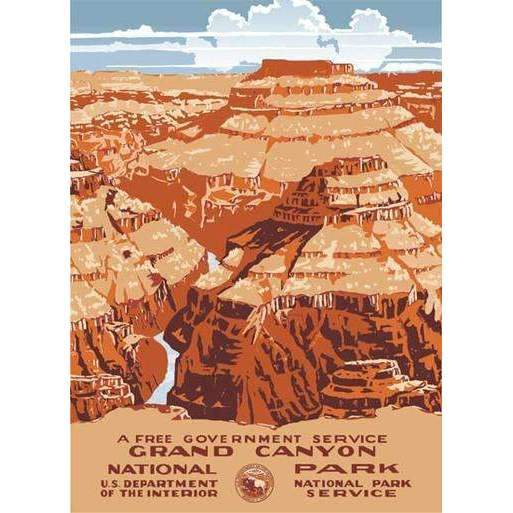 Ford Craftsman Decor Grand Canyon Poster