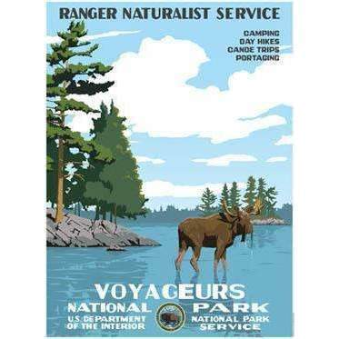 Ford Craftsman Decor Voyageurs National Park Poster