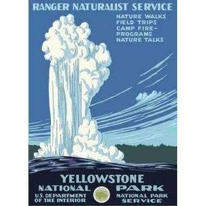 Ford Craftsman Decor Yellowstone National Park Poster