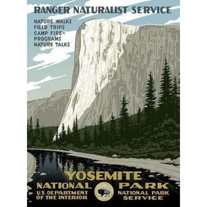 Ford Craftsman Decor Yosemite Poster