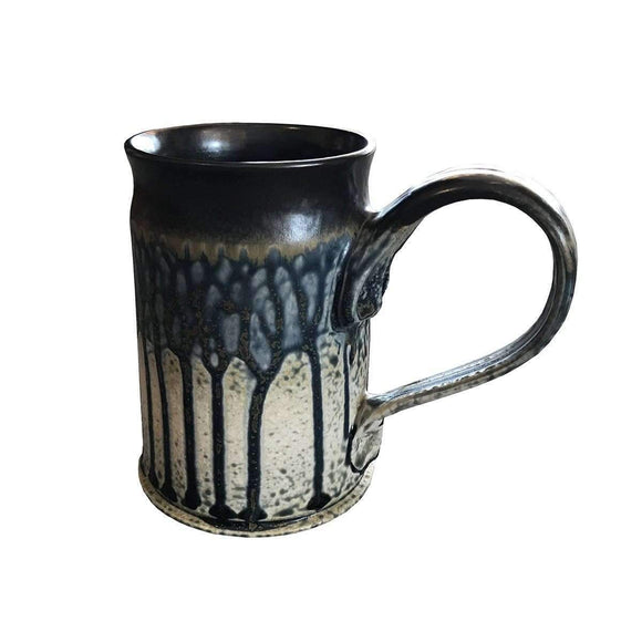 Frank Stofan Decor Ceramic Blue Stein