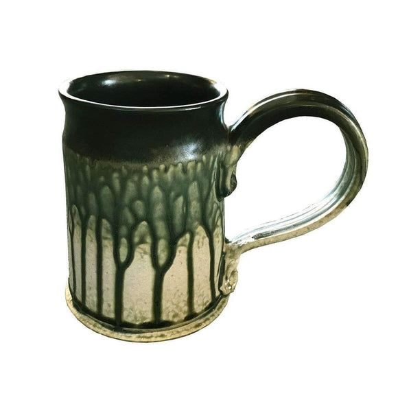 Frank Stofan Decor Ceramic Green Stein