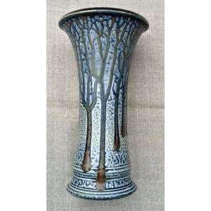 Frank Stofan Decor Small Delk Vase- Blue