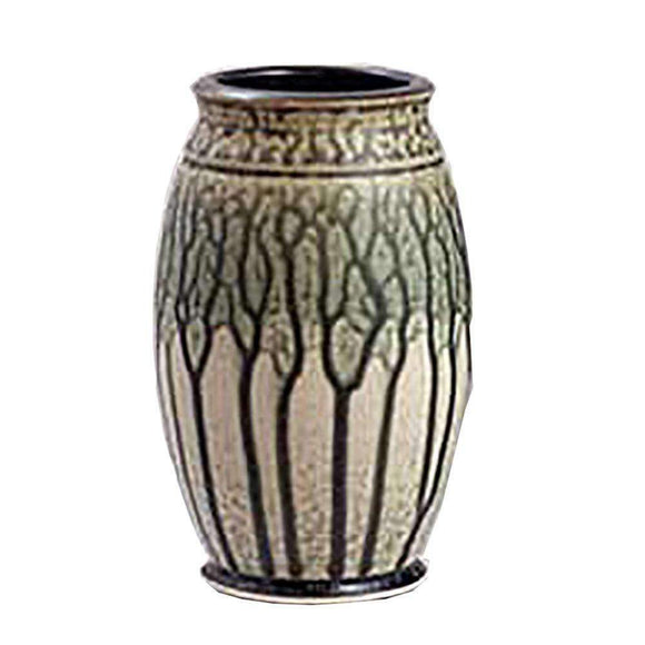 Frank Stofan Decor Traditional Green Vase - Small