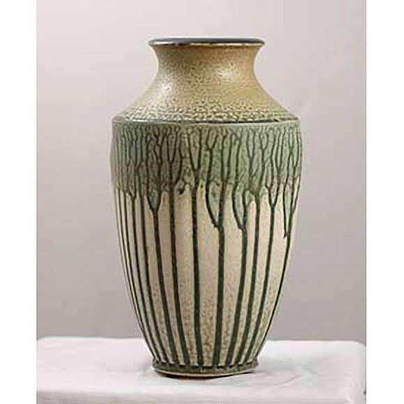 Frank Stofan Decor Venetian Green Vase - Medium