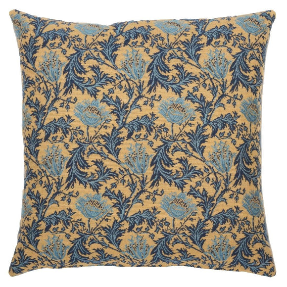 William Morris Anemones Tapestry Pillow by Hines