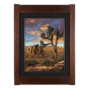 Keith Rust Decor Joshua Tree - California Desert Giclee Extra Extra Large Coal Black