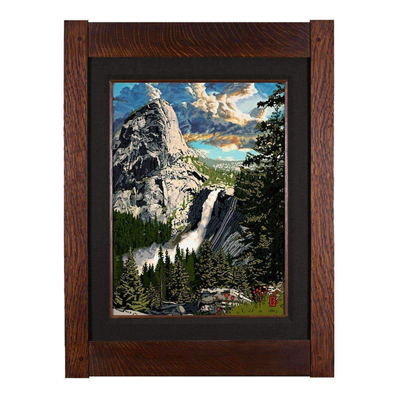 Keith Rust Decor Liberty Cap - Yosemite Park Giclee Extra Extra Large Coal Black