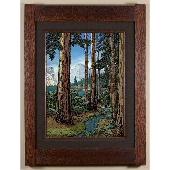 Keith Rust Decor Majestic Red Fir - California Mountain Giclee