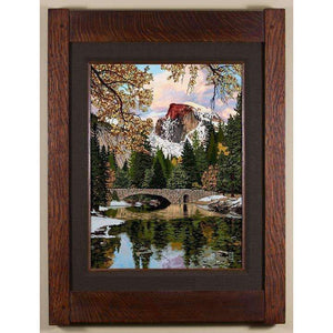 Keith Rust Decor Serene Half Dome - Seasonal Landscape