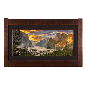 Keith Rust Decor Yosemite Valley Giclee Extra Extra Large Coal Black