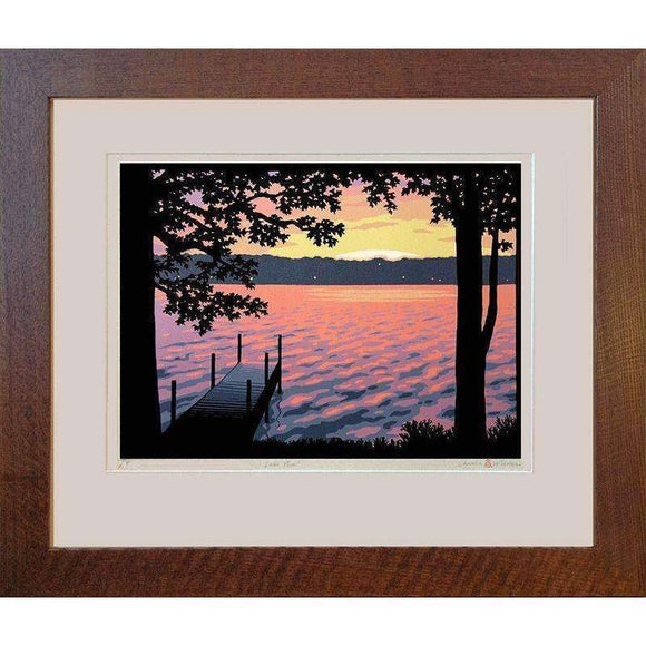 Laura Wilder Decor Lake View Framed