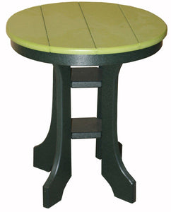 Meadowview Outdoor Furniture 20 Inch Round Side Table