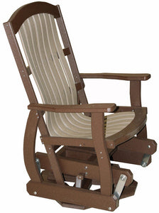 Meadowview Outdoor Furniture Cottage Swivel Glider