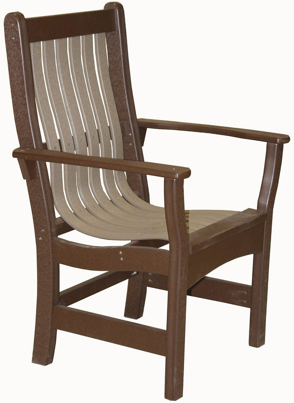 Meadowview Outdoor Furniture Dining Arm Chair