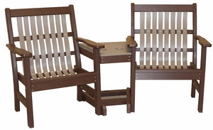 Meadowview Outdoor Furniture Lowback 3 in 1 Settee