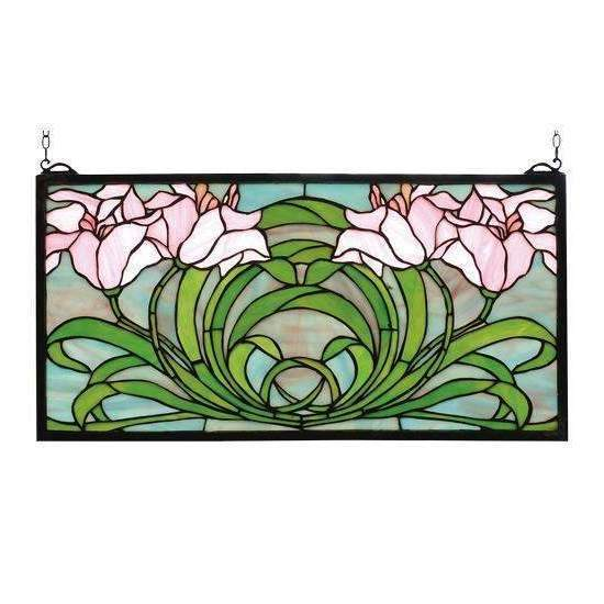 Meyda Decor Calla Lily Window