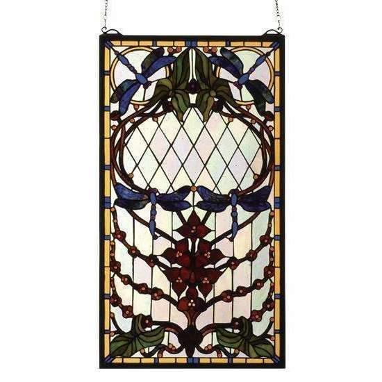 Meyda Decor Dragonfly Meyda Window
