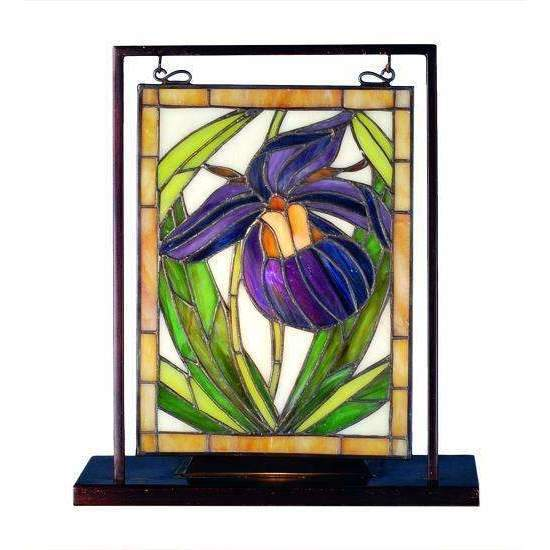 Meyda Decor Lady Slipper Mini Window