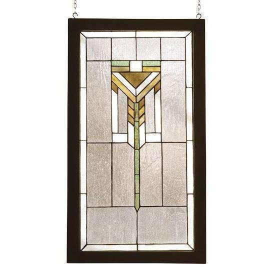 Meyda Decor Prairie wooden framed window
