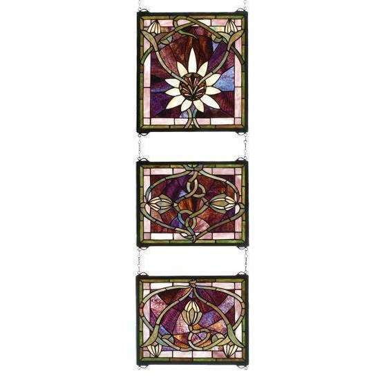 Meyda Decor Solstice 3 Piece Window