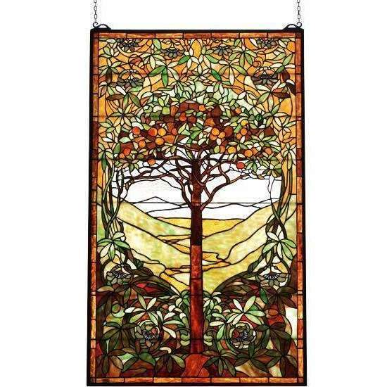Meyda Decor Tree of Life Window