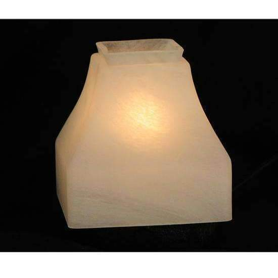 Meyda Interior Lighting Bungalow Alabaster Glass Shade