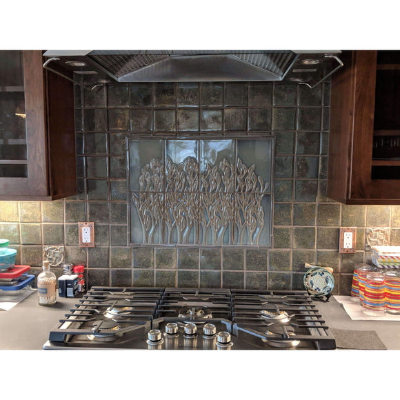 Modern Bungalow Service Custom Backsplash Design