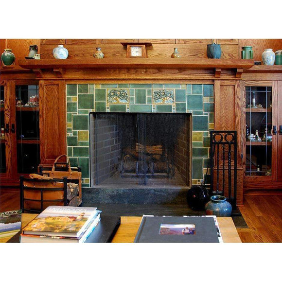 Modern Bungalow Service Custom Fireplace Design