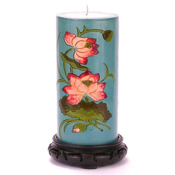 Moon Alley Gifts Handcrafted Lotus Candle
