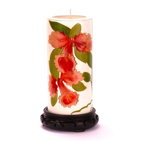 Moon Alley Gifts Handcrafted Orchid Candle
