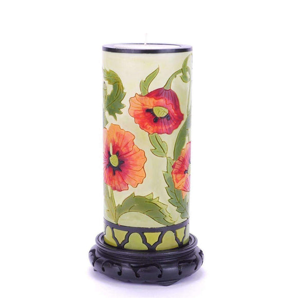 Moon Alley Gifts Handcrafted Poppy Candle