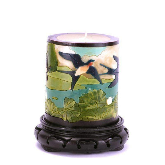Moon Alley Gifts Handcrafted Swallow Candle