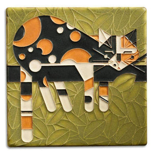 Motawi Gifts Limp on a Limb Tile - 6x6
