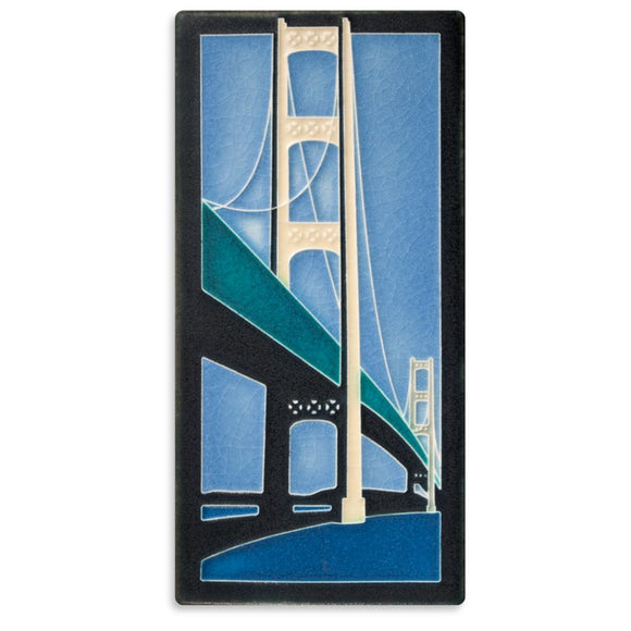 Motawi Gifts Mighty Mac Tile - 4x8