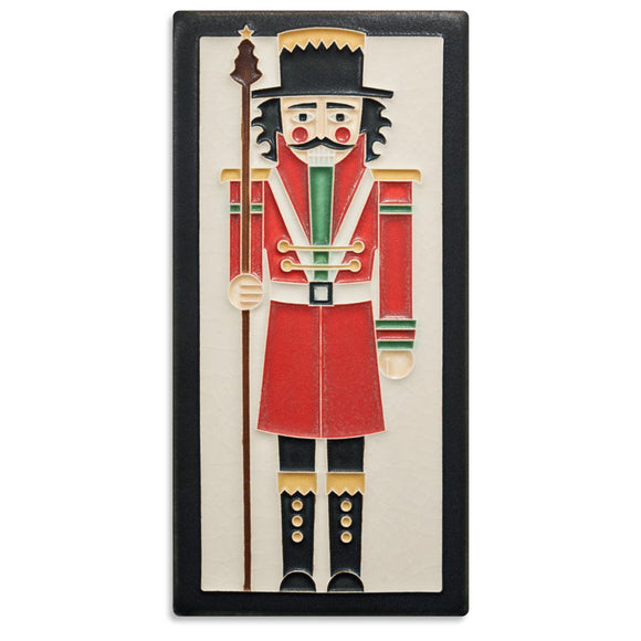Motawi Gifts Nutcracker Tile