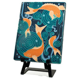 Motawi Gifts Roebuck Tile Easel - 7H