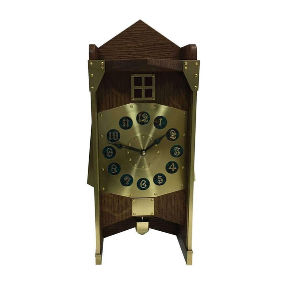MT Clockmaker Decor Gustave Serrurier-Bovy Mill Clock
