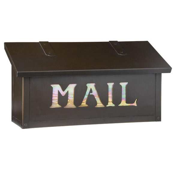 Old California Exterior Decor Classic Horizontal Mail Box - MAIL