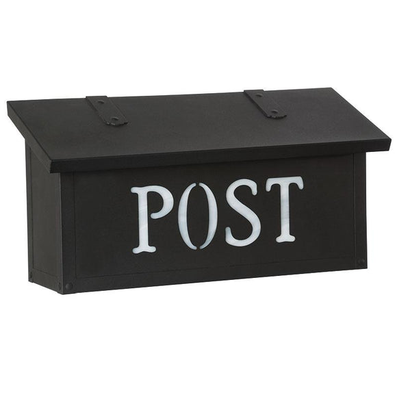 Old California Exterior Decor Classic Horizontal Mail Box - POST