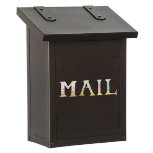 Old California Exterior Decor Classic Vertical Mail Box - MAIL