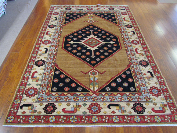Persian Carpet Rug Desert Bloom Rug 4x6