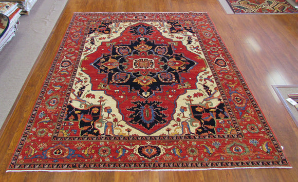 Persian Carpet Rug Dynasty Ruby Rug 5x7