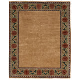 Persian Carpet Rug Oak Park Gold Border Rug 10x14