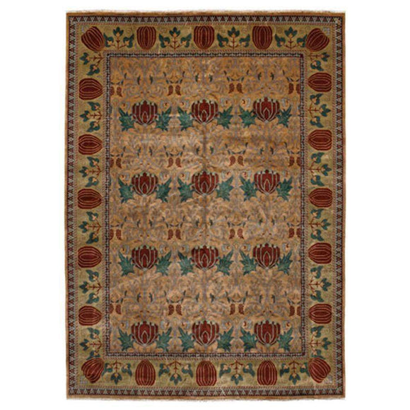 Persian Carpet Rug Oak Park Gold Rug 2x3