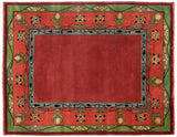 Persian Carpet Rug Voysey Border Rug