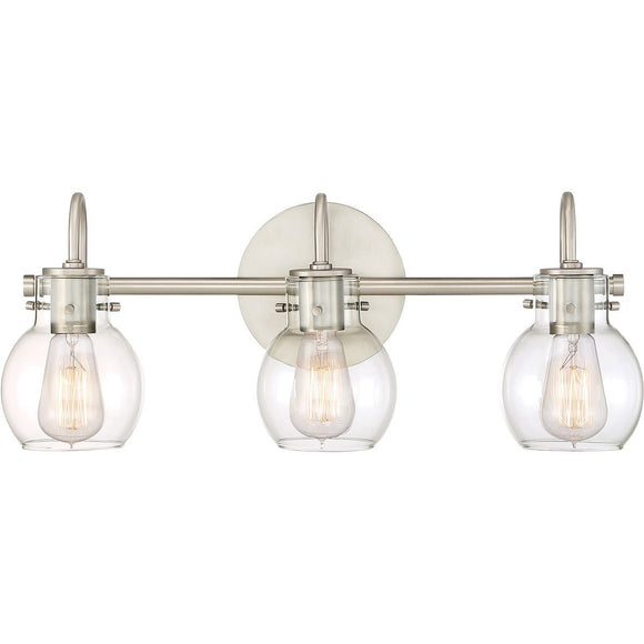 Quoizel Interior Lighting Andrews 3 Light Fixture