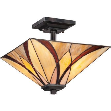 Quoizel Interior Lighting Asheville Semi Flush Mount